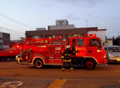 s-520-3消防車到着