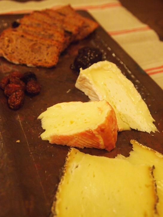 チーズ3点盛り