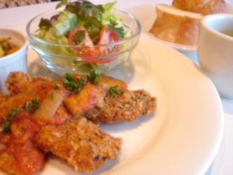 白身魚の香草パン粉揚げ