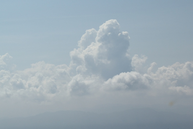 すごく素敵な入道雲!