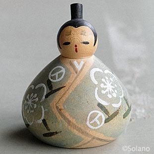 スプリトの蚤の市で見つけた木製の日本人形