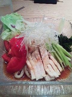 バンバンジー冷麺
