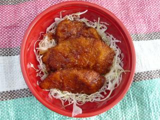 駒ヶ根ソースかつ丼(ライス品切れによりソースかつのみ)