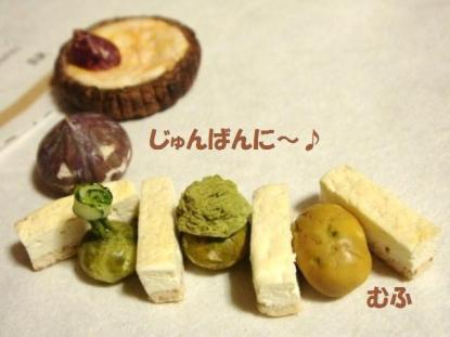 チーズケーキ新〔プレーン・スティック〕+かぼちゃ達②