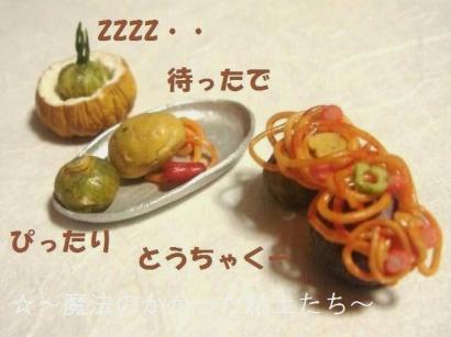 ナポリタン銀皿〔旧〕+かぼちゃ達④