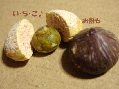 ブッセ茶紙〔苺ホイップ〕+かぼちゃ達