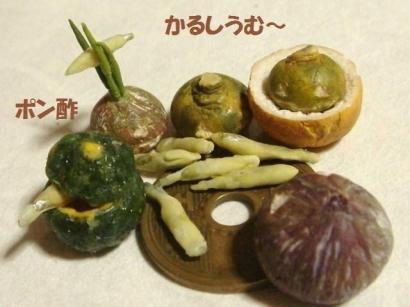 わかさぎの天ぷら・かぼちゃ達④