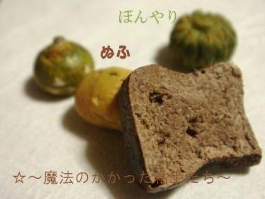 黒糖ブレッド〔旧〕かぼちゃ達③