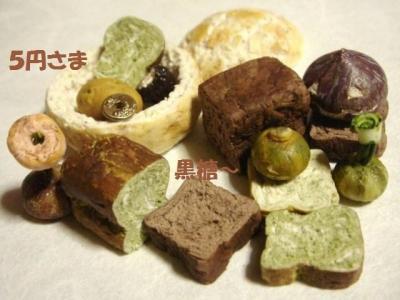 食ぱん2種〔抹茶・黒糖〕+玄米パン・かぼちゃ達