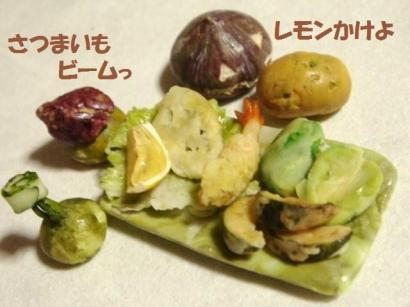 天ぷら4種盛り合わせ・かぼちゃ達