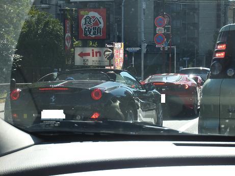 フェラーリの列