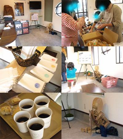 「ORIORI Cafe」前日準備@美里蔵誕生祭