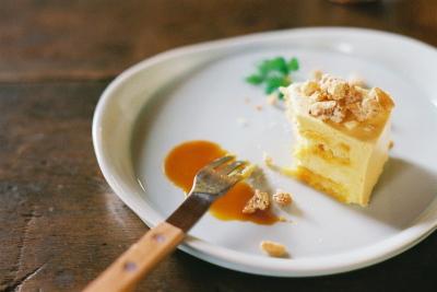 キャラメルムースケーキ@三番山下
