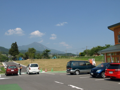 磐梯山(道の駅ばんだいより)