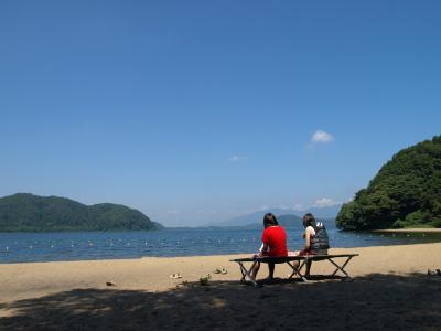 中田浜(猪苗代湖)
