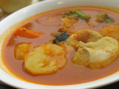 スープカレーセット@FURUKAWA BAKERY