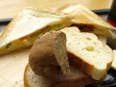 ランチセットAのパン@FURUKAWA BAKERY