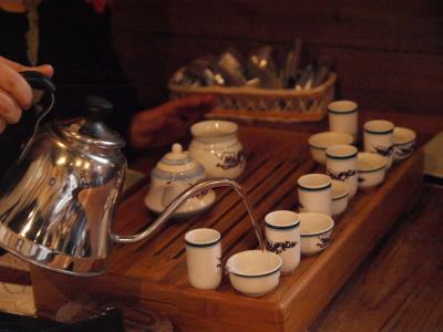 ワークショップ「台湾茶藝」の予行練習@折折倶楽部グループ展vol.3
