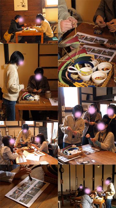 ワークショップ「エコクラフト」@折折倶楽部グループ展vol.3