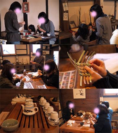 折折倶楽部グループ展vol.3、6日目(最終日)。