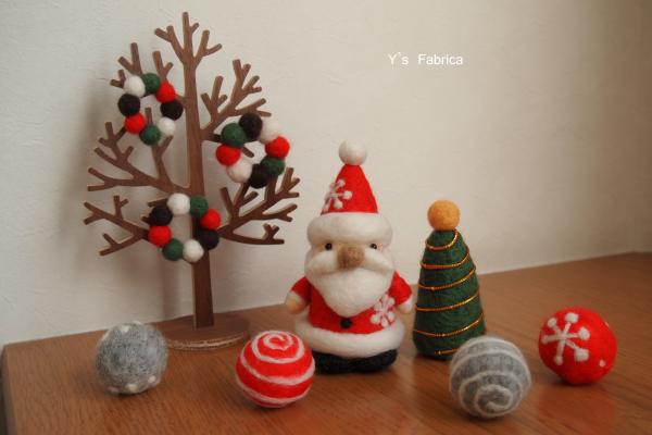 サンタさんとツリー