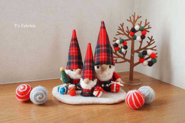 とんがり帽子のトムテ クリスマスVer.