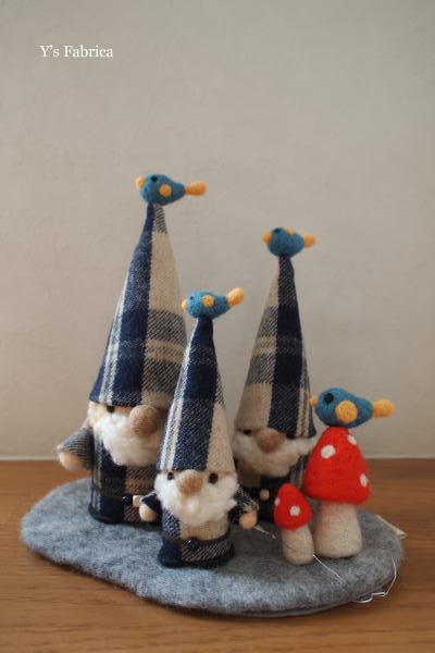 とんがり帽子のトムテ 青い鳥3人ver.