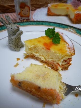パプリカチーズケーキP1210419