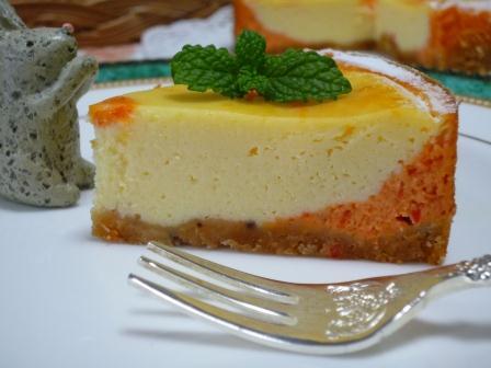 パプリカチーズケーキP1210409