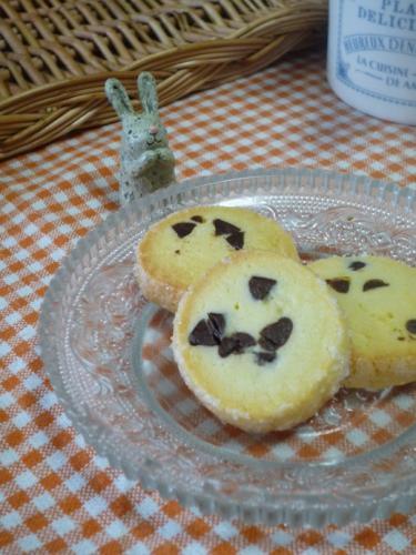 チョコチップ入りクッキーP1220400