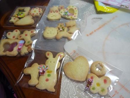 クリスマスクッキーおやこ1220606