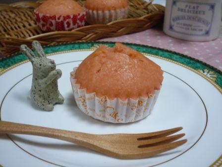 米粉イチゴ蒸しパンP1220712