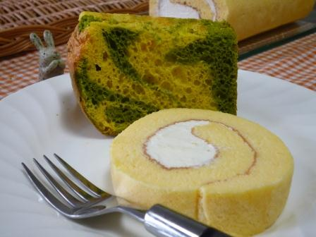試作ロールケーキ&シフォンP1220717