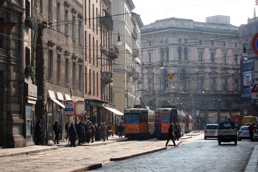 ミラノのトラム