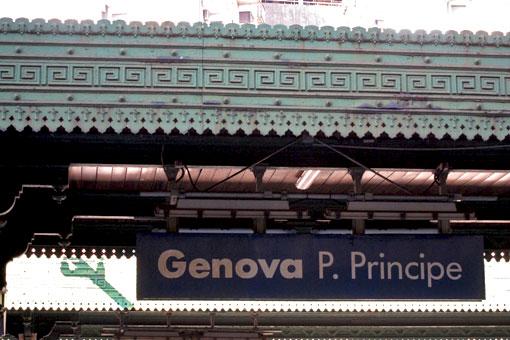 ジェノヴァ・ピアッツァ・プリンチペ駅