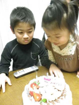 8歳誕生日2