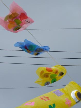 2012年鯉のぼり1