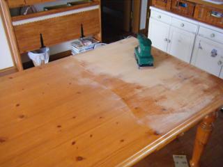 リビング テーブル サンダー