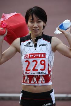 福島千里選手