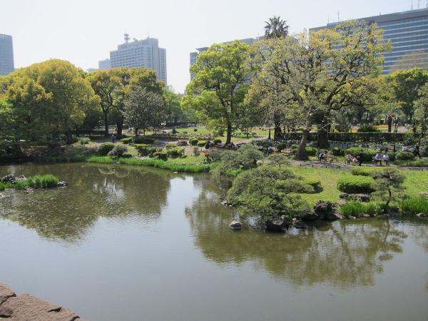 日比谷公園 心字池1〔フリー写真〕