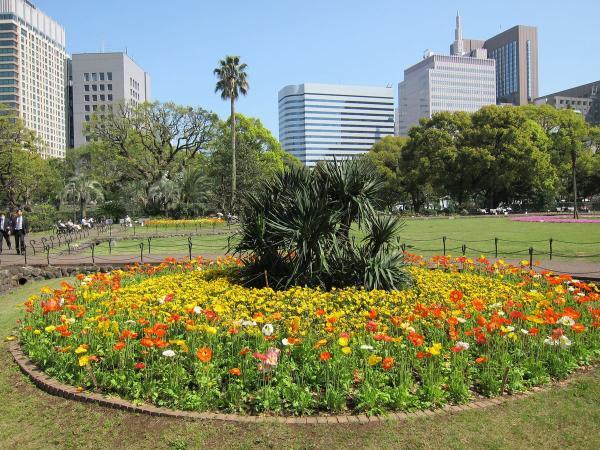 日比谷公園 第一花壇3〔フリー写真〕