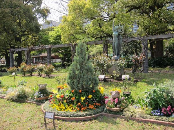 日比谷公園 第一花壇5〔フリー写真〕