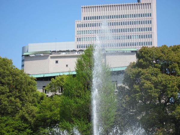 日比谷公園 大噴水2〔フリー写真〕