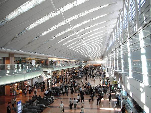 羽田空港 第2ターミナル1〔フリー写真〕
