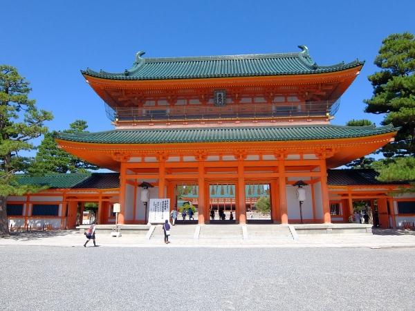 平安神宮1〔フリー写真〕