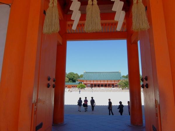 平安神宮2〔フリー写真〕