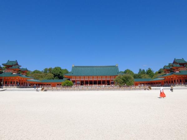 平安神宮3〔フリー写真〕