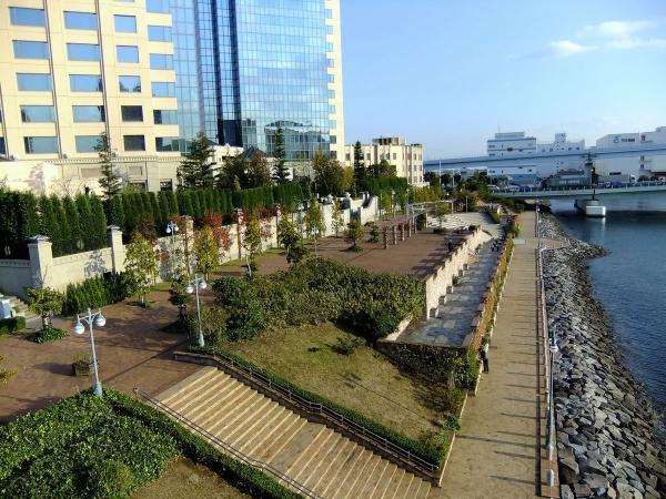 東京ベイコートクラブと水の広場公園2〔フリー写真〕