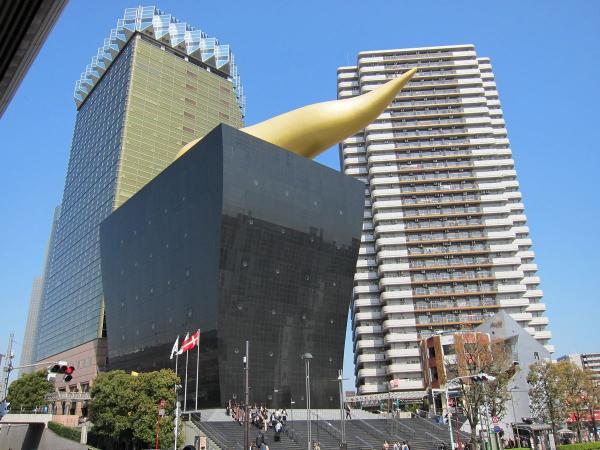 アサヒビール本社と東京スカイツリー3〔フリー写真〕