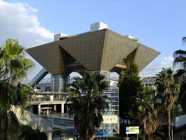 東京ビッグサイト3〔フリー写真〕